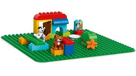 2304 LEGO DUPLO Large Green Building Plate