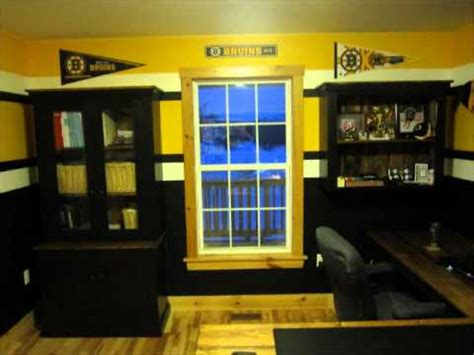Boston Bruins Room - Before the 2011 Stanley Cup Playoffs