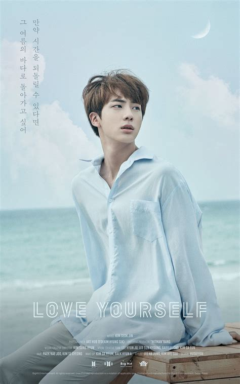 """Update: BTS Shares New Poster Of Jin For Upcoming """"Love Yourself"""" Series 