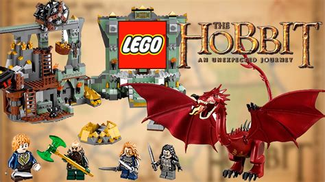 LEGO The Hobbit 2014 Smaug Set - The Lonely Mountain