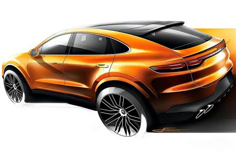 New Porsche Cayenne Coupe teaser image leaked | Carbuyer