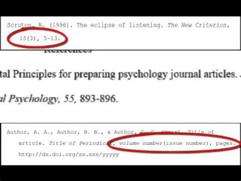 APA References: Periodicals - YouTube